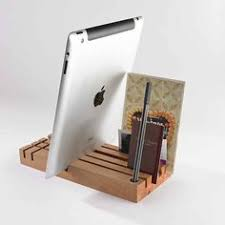 Woodworking Plans Desk Organizer by All In One Wooden Desk Organizer With Iphone Charger Cool Stuff