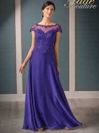 Mother Of Bride Dresses Couture by Jade Couture K188010 Cap Sleeves Chiffon Mother Of The Bride Dress