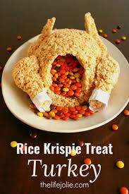 18 ideas for fall rice krispy treats rice thanksgiving and