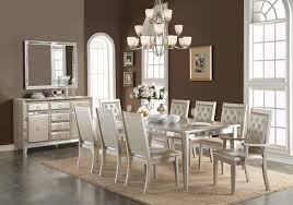 Mirrored Dining Room Furniture Mirrored Dining Room Set Traditional Dining Tables By Beyond