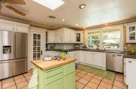 Wurth Kitchen Cabinets Traditional Kitchen With Skylight Flush Light In Fresno Ca