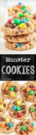 jumbo monster cookies recipe peanut butter oatmeal oatmeal