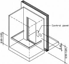 What Is Standard Handrail Height Accessibility Design Manual 2 Architechture 2 Elevators