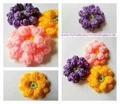 248 crochet flower ornament patterns images