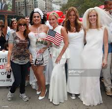 7th annual wedding march for marriage equality photos and images