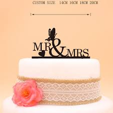mrs and mrs cake topper glitter silver mr mrs heart butterfly wedding cake topper gold