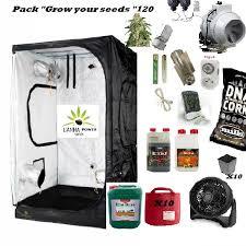 chambre culture complete pack chambre de culture complete 120 indispensable cannabis