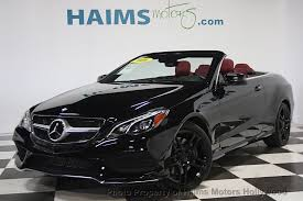mercedes e350 convertible used 2016 used mercedes e class 2dr cabriolet e550 rwd at haims