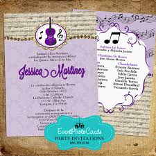 change colors buy our quinceanera invites music band quinceanera