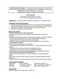 combination resumes exles functional format templates simple combination resume exles