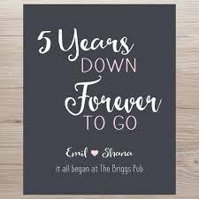 5 year anniversary gift ideas 5yr anniversary best 25 5 year anniversary gift ideas on