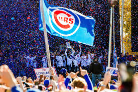 Cubs Flag Kris Bryant Mvp Chicago Cubs Star Goes Back To Work