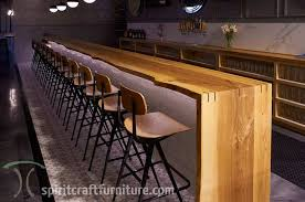 live edge table chicago edge ash bar tops and restaurant tables at chicago brewery