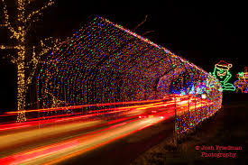 shady brook farm holiday light show josh friedman photography january 2017