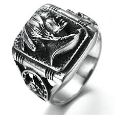 cool mens rings stainless steel ring for men indian ring black ba https