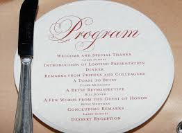 wedding reception program wedding program ideas sle ceremony programs diy u