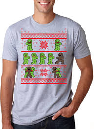 gingerbread zombie ugly christmas sweater t shirt crazydog t