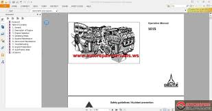 deutz bfm 1015 operation manual auto repair manual forum heavy