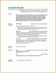 Students Resume Examples by Student Resume Templates Student Resume Template Easyjob Lovable