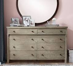 Toulouse Bedroom Furniture White Toulouse Extra Wide Dresser Pottery Barn