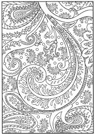 coloring print pages floral flourish and embellishments coloring printable the