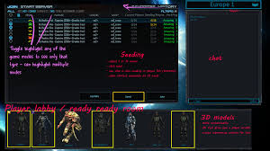 server browser improvement player lobby u0026 server seeding tool