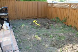 leveling out a backyard part 30 small backyard multi level