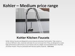 kohler kitchen faucet reviews best kitchen faucets reviews