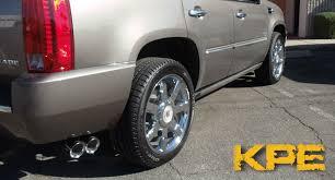 cadillac truck 2014 2007 2014 cadillac escalade gmc denali dual exhaust tip korkar