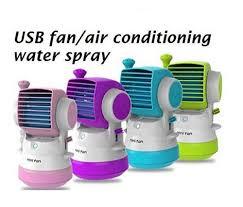 Desk Top Air Conditioner Mini Small Fan Cooling Portable Usb Desktop Air Conditioner