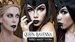queen ravenna look de halloween inspired makeup tutorial