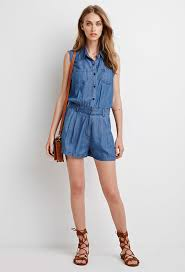 forever 21 rompers and jumpsuits forever 21 denim utility romper where to buy how to wear