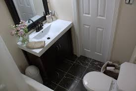 Small Bathroom Makeovers Before And After - before and after small bathroom makeovers big on style