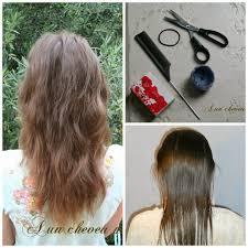 comment se couper les cheveux soi meme se couper les cheveux soi même le dégradé a un cheveu près