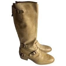 womens boots unique unique belstaff s leather boots beige 21653771