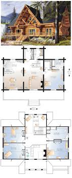 log cabin home floor plans mountain architects hendricks architecture idaho rustic log cabin
