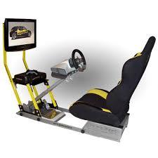 siege xbox 360 support écran jaune supports volants et siège de jeu pour consoles