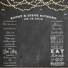 wedding backdrop aliexpress string lights and jars wedding photo backdrop chalkboard