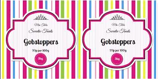 editable printable jar labels vibrant candy stripe sweet jar label ideas aa labels blog