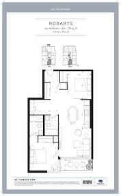 Den Floor Plan Ayc Condo Toronto 2 Bedroom Den U0026 2 Bedroom Floor Plans 181
