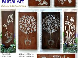 outdoor wall decor metal eldesignr