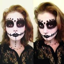 halloween face paint tutorial voodoo doll youtube