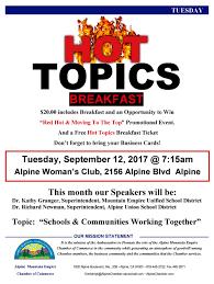 alpine chamber of commerce archives alpine community network