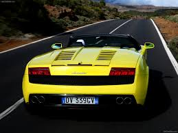 Lamborghini Gallardo 2015 - lamborghini gallardo lp560 4 spyder 2009 pictures information