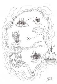 Treasure Island Map 57 Best Treasure Map Images On Pinterest Pirate Treasure Maps