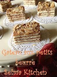 recette de cuisine facile sans four selma kitchen gateau aux petit beurre recette facile de gateau aux