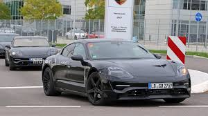 porsche mission e wallpaper porsche mission e spied for the first time with production body