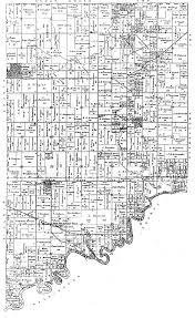Illinois Township Map by Looking Glass Township 1892 Plat Map Clinton County Il