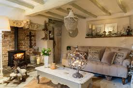 shabby chic livingroom kent cottage shabby chic style living room by chris