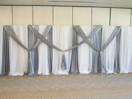 wedding backdrop using pvc pipe diy wedding crafts a large scale pvc backdrop pinteres